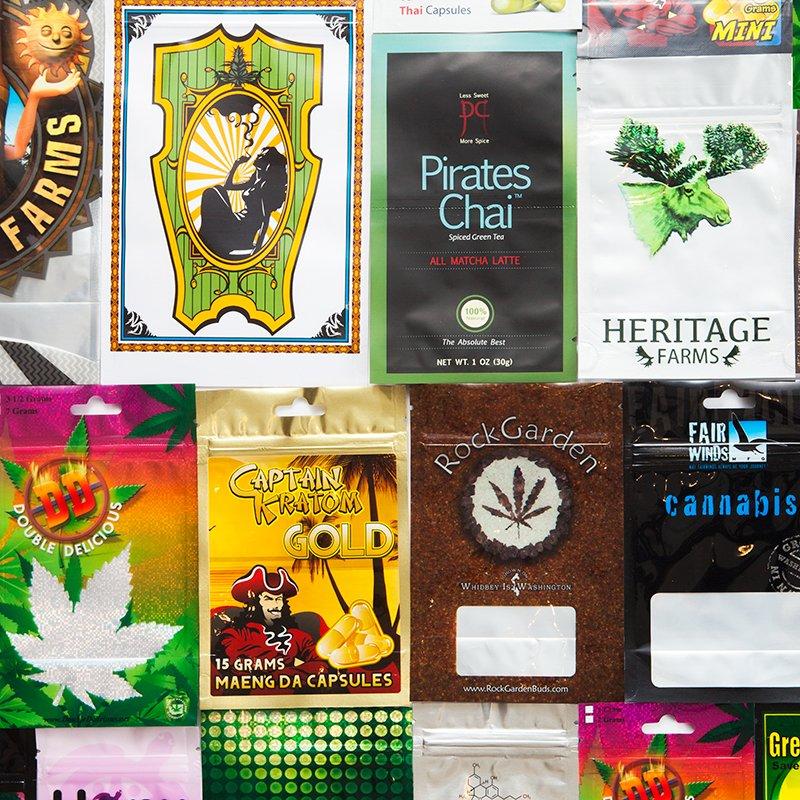 Custom Printed Bags, Mylar Foil, Marijuana Packaging | HQ