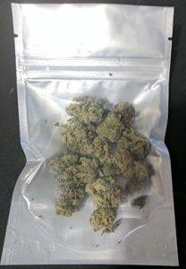 "4.0"" x 6.4"" x 2.3"" holding 7 grams marijuana"