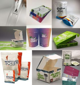 custom printed bags and boxes