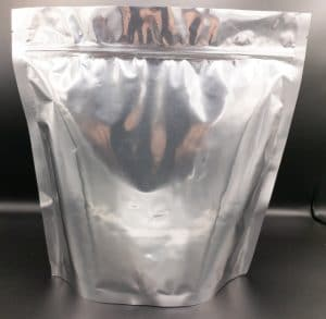 20sup silver foil bag